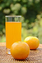 Orange Juice. Royalty Free Stock Photo