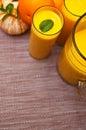 Orange Juice With Glasses