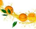 Oranžový šťáva