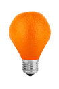Orange lamp Stock Photo