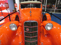 Orange LaSalle Series 50 Convertible Coupe Royalty Free Stock Photo