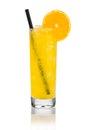 Orange lemonade Royalty Free Stock Photo