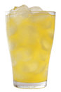 Orange lemonade with ice Royalty Free Stock Photo