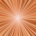 Orange light burst Royalty Free Stock Photography