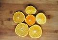 Orange and madarin Royalty Free Stock Photo