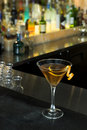 Orange Martini Royalty Free Stock Photo