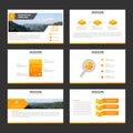 Orange Minimal Presentation Te...