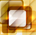 Orange modern geometric absract background Royalty Free Stock Photography