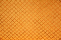 Orange mosaic wall pattern background. Royalty Free Stock Photo