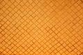 Orange mosaic wall pattern background. Royalty Free Stock Photo