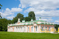 Orange palace in the park kuskovo moscow russia summer day Stock Photography