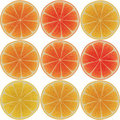 Orange pattern Stock Image