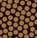 Orange pattern. Seamless vector