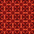 Oranžový vzor symetria dizajn