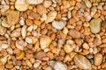 Orange Pebble Stone Texture Ba...