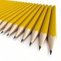 Orange pencils Royalty Free Stock Images
