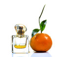 Orange perfume Royalty Free Stock Images