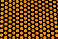 Orange polka dots Royalty Free Stock Photo