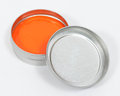 Orange Putty Stock Photography