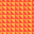Orange and red abstract pattern with triangles
