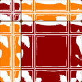 Orange and red ceramic tiles Royalty Free Stock Photography