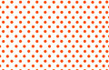 An Orange Red Polka Dot With W...