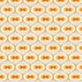 Orange Retro Wallpaper Royalty Free Stock Photo