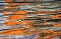Orange Ripples Background