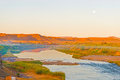 Orange River Namibia And South...