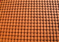 Orange roof tiles Royalty Free Stock Photography