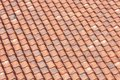 Orange roof tiles background Royalty Free Stock Photography