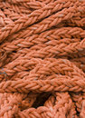 Orange Rope Background Stock Image