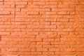 Orange rough brick wall background texture Stock Image