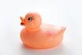 Orange Rubber Duck Royalty Free Stock Photo
