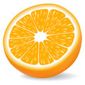 Orange segment Stock Images