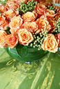 Orange siamesische Rosen 007 Stockbilder
