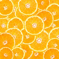 Orange Slice Abstract Royalty Free Stock Photo