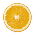Orange slice isolated Stock Images