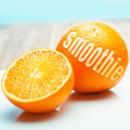Orange Smoothie Stock Images