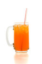 Orange Soda Stock Image