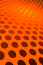 Orange Spot Pattern Royalty Free Stock Photo