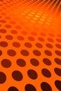 Orange Spot Pattern Royalty Free Stock Photo
