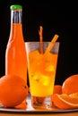 Orange still-life Royalty Free Stock Photo