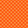 Orange table cloth Royalty Free Stock Photo