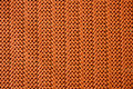 Orange tablecloth texture Stock Photos