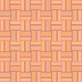 Orange textured seamless geometric wallpaper Royalty Free Stock Photo