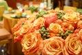 Oranžový ruže 015