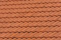 Orange Tile Pattern Royalty Free Stock Photography