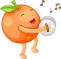 Orange vector Royalty Free Stock Photo