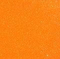 Orange vintage paper over bokeh glitter lights background Stock Image